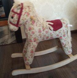 Νέο κουνιστό άλογο με ηχητικό εφέ