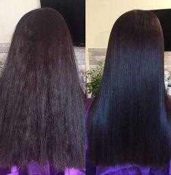 Keratin Doğrultma ve Botoks Saçları