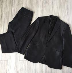 Κλασικό κοστούμι Popolare αρσενικό διάλυμα M🤵