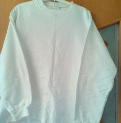 The sweatshirt is teenage warmed