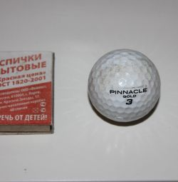 PINNACLE gold 3 golf ball