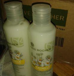lapte și loțiune Yves rocher