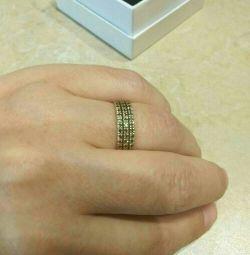 Кольцо 18 размер