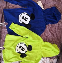 Blouses cotton 2-3years