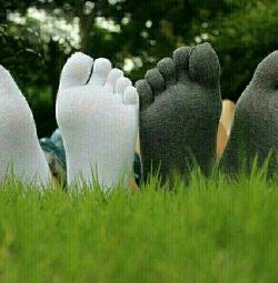 Κάλτσες ενήλικες 10 δάκτυλα unisex