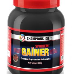 Gainer SPORTEIN® GAINER vanilla, chocolate, strawberry