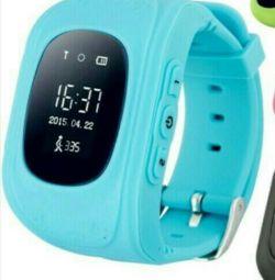 Children's watch with tracker
