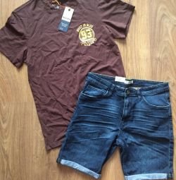 T-shirt and shorts
