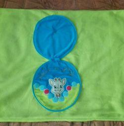 Pătura pentru copii Giraffe Sofia