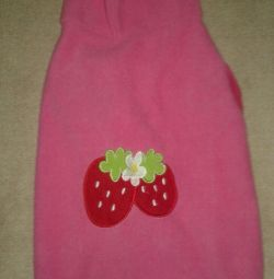 New fleece sweatshirt for dogs