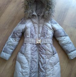 Down jacket kiko 134-140