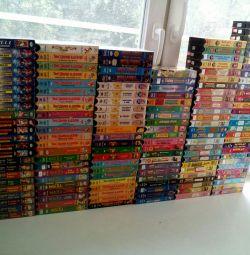 O colecție mare de videoclipuri.