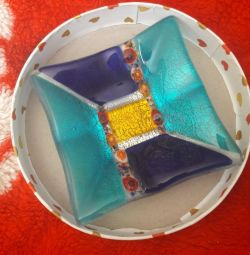 Βάζο από γυαλί Murano Ιταλία