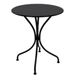 METAL TABLE Φ60 ALPINE BLACK HM5104.04