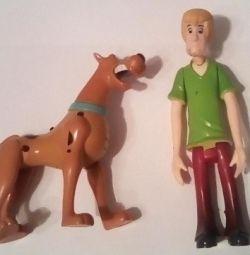 Scooby-Doo ve Shaggy rakamları