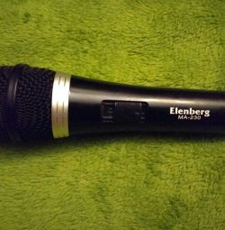 Elenberg MA-230 microphone + Cable + adapter