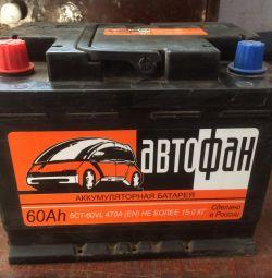 Μπαταρία AUTOFAN 60Ar