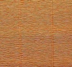 Κυματοειδές χαρτί. 50cm * 2,5m 180g ανοιχτό καφέ