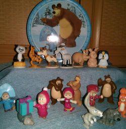 Кіндер-сюрприз Маша і ведмідь