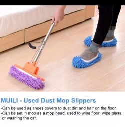 Slippers for wet cleaning