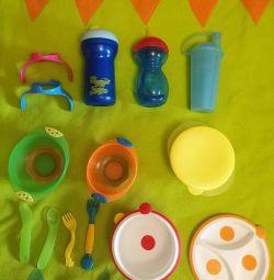 Băutori, feluri de mâncare pentru bebeluș