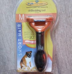 Furminator for cats and dogs