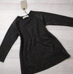 Базовое платье Zara на девочку 5 лет новое