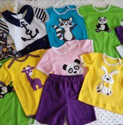 Children's costumes. New