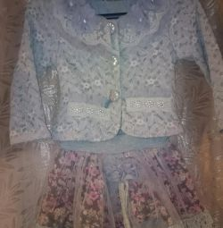 Costum și haina din piele de oaie