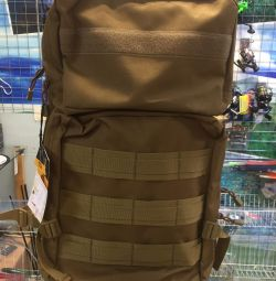 Backpack hiking and tourist 70 liters