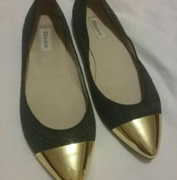 Genuine leather shoes p-p 38.