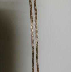 Цепь золотая 585