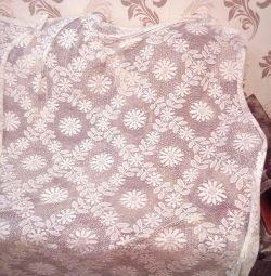 Tulle cotton wool height 1,8m, width 2,3m