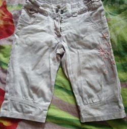 Бриджи Mills kids джинсов. на 4-5 л, 104-110см