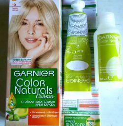 Garnier hair dye nutritious