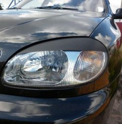 Cilia headlights on Lanos