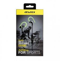 Sports Bluetooth Headset Awie A890BL black