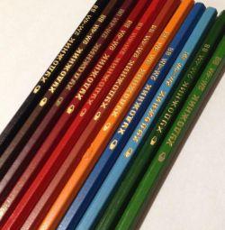 Цветные карандаши СССР