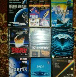 DVD-tematice știință, timp, apă, etc)