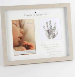 1st Father's Day frame