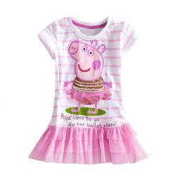 Rochie pentru copii cu puf