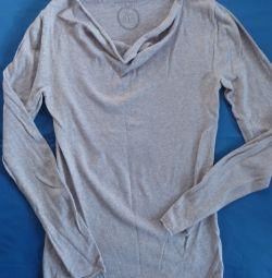 Пуловер хлопок/шерсть, Франция, р-44