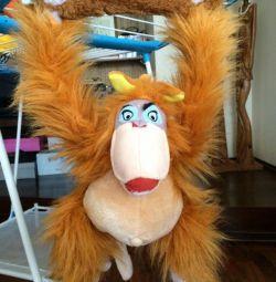 Мавпа м'яка іграшка