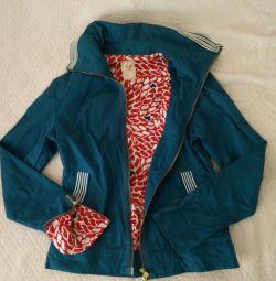 Куртка-ветровка reebok р.44