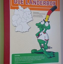 Board game in German Die Landerbox