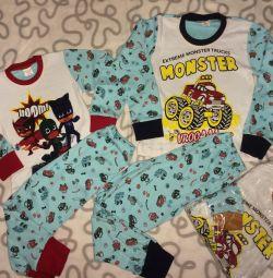 Πιτζάμες για αγόρι 2g