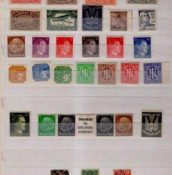 Німеччина, рейх. 100 різних поштових марок