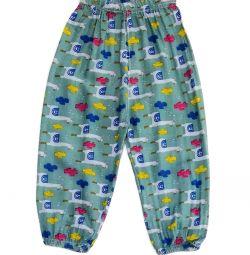 Новые брюки на резинке (хлопок)