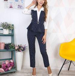 Γυναικείο κοστούμι δύο