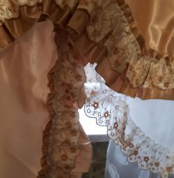 curtain with lambrequin